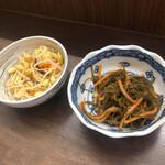 124233489 - 松前漬け(230円)と豆もやし(180円)