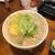 もつ焼のんき - 特製じゃが芋入り煮込み(450円)