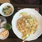 福琳酒家 - 海老とレタスの炒飯