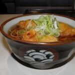 谷田部東パーキングエリア(上り線)スナックコーナー - 料理写真:つくば鶏天そば 610円