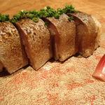 玖温 - 名物 炙り〆鯖の棒寿司