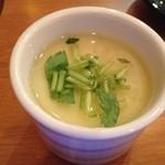 魚盛 - お通しの茶碗蒸し