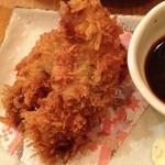 魚盛 - 大粒かきフライ 岩海苔タルタル
