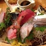 魚盛 - 刺身盛り合わせ