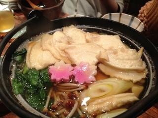 北の台所 おんじき 立川家 - せんべい汁