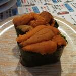 廻鮮寿司 塩釜港 - ウニ