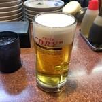 ラーメン王 - 生ビール