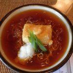 武蔵そば - カミングアウトバラエティ 秘密のケンミンSHOWにも出た、あんかけ蕎麦
