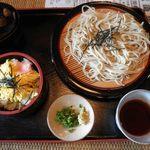 武蔵そば - ざるそば定食