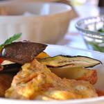 夕日ヶ丘レストラン善生 - 夕日ヶ丘 日替わり夜ランチはお肉か魚がチョイス出来ます