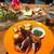 ロテイー チキンアンドジャッキー タコス - その他写真:ロティーチキン(ハーフサイズ)とおまかせタパス盛り合わせ