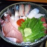 Sakanatokidokinikutada - 特上海鮮丼 950円