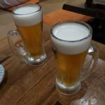 124253234 - 生ビール スーパードライ   580円+税 x 2杯