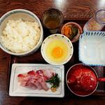 季節料理 魚吉  - ひゅうが飯完成前