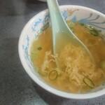 醤醤 - 料理写真:ご飯物に付属のスープ