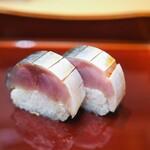 124259896 - 鯖の小袖寿司