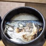 124259971 - ブリの炊き込みご飯