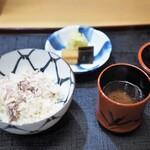 赤坂 詠月 - ブリの炊き込みご飯