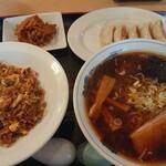 味噌屋 麺太 - こくだれ醤油チャーハンセット(平日限定)