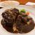 厳選洋食さくらい - 料理写真:①オクステールシチュー3100円+洋食セット(ライス)
