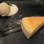 アーペ ワールド カフェ - ベイクドチーズケーキ