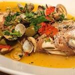 ヨーロッパ食堂ジュール - 鮮魚のアクアパッツァ