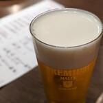 板バ酒バ魚 - 生ビール