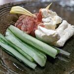 板バ酒バ魚 - クリームチーズ味噌漬け