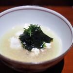 銀座 しのはら - 煮物替わり 伊勢海老と蛤の鍋
