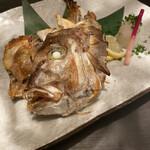 地酒と和食 吟味 - 鯛のお頭焼き