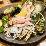 yakeichi-zunikubaruga-den - 鶏のタタキ 2種