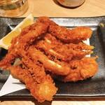 Sushisakesakanasugitama - イカゲソの唐揚げ
