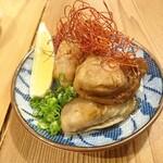 酒呑蕎食〆タグル - 牡蠣のオイル漬け