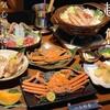 kaishokuuosada - 料理写真:活越前ガニコース!絶品美味!