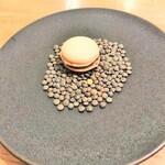 シャントレル - レンズ豆のマカロン