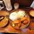 黒之助 - G定食ハムカツ+ミニカレー