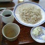 Chikyuuya - もりそば850円。