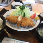 パークハウス 陽陽 - 和風おろしロースかつ定食(並)