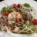 Cafe福 - サラダ仕立てのガレット