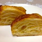 森のパン屋 - クロワッサン_カット