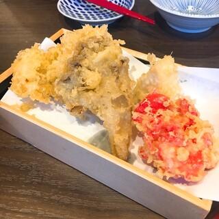 天ぷらとおでんからのSDGsなお店 - 揚げたて天ぷら