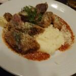 肉バル×ダイニング MEAT LABO DAIBA - 和牛のカツレツ~完熟トマトのソースで~