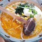 味噌一 - ピリ辛バター(太麺)(870円)