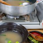 満幸商店 - 2020.1 おひとり様用わさびスープ(700円)