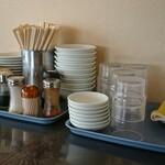 創作家庭料理 豊盛 - 取り皿、卓上調味料などなど…
