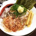 金町製麺 - 鬼脂そば