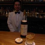 1243113 - バー セブンシーズ マスター遠藤さんです。
