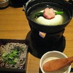 12430349 - 湯豆腐と蕎麦
