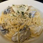 メリプリンチペッサ - ランチ 牡蠣のレモンクリームソース