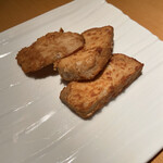 石塀小路 豆ちゃ - 海老芋の醤油焼き